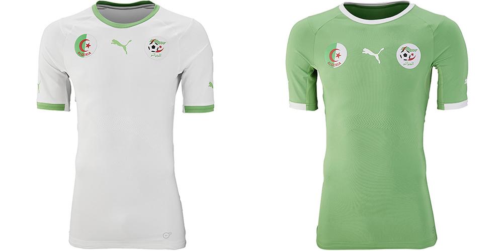 Форма сборной Алжира ЧМ-2014