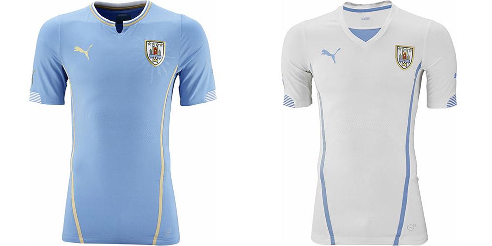 Форма сборной Уругвая ЧМ-2014