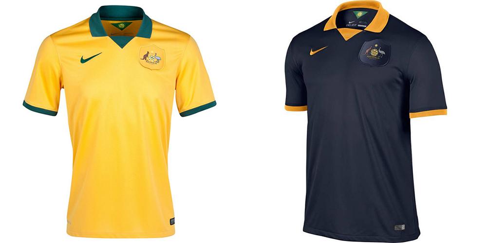 Форма сборной Австралии ЧМ-2014