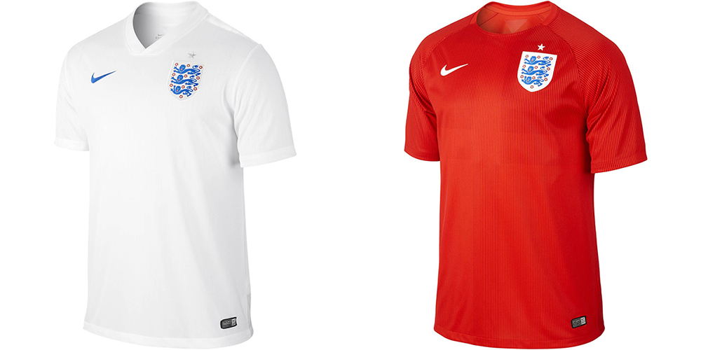 Форма сборной Англии ЧМ-2014