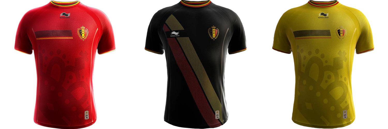 Форма сборной Бельгии ЧМ-2014