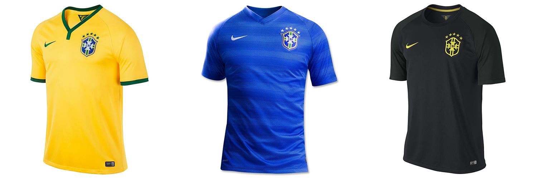 Форма сборной Бразилии ЧМ-2014