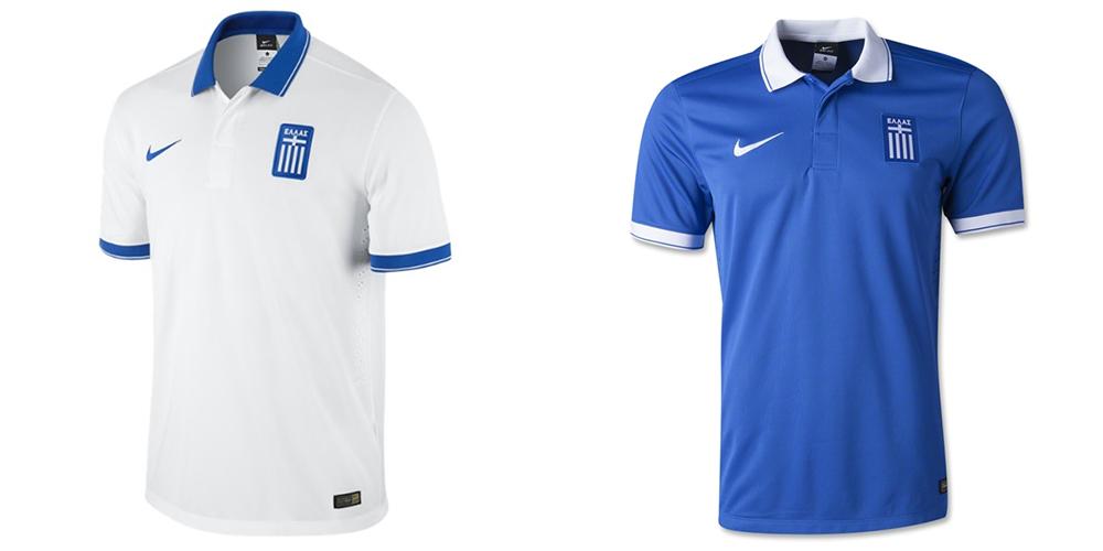 Форма сборной Греции ЧМ-2014