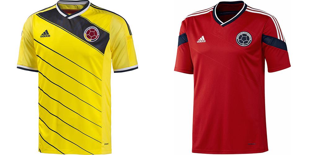 Форма сборной Колумбии ЧМ-2014