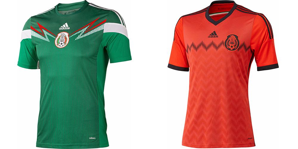 Форма сборной Мексики ЧМ-2014