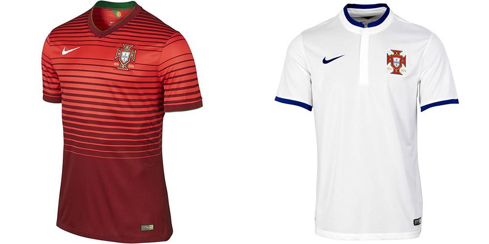 Форма сборной Португалии ЧМ-2014