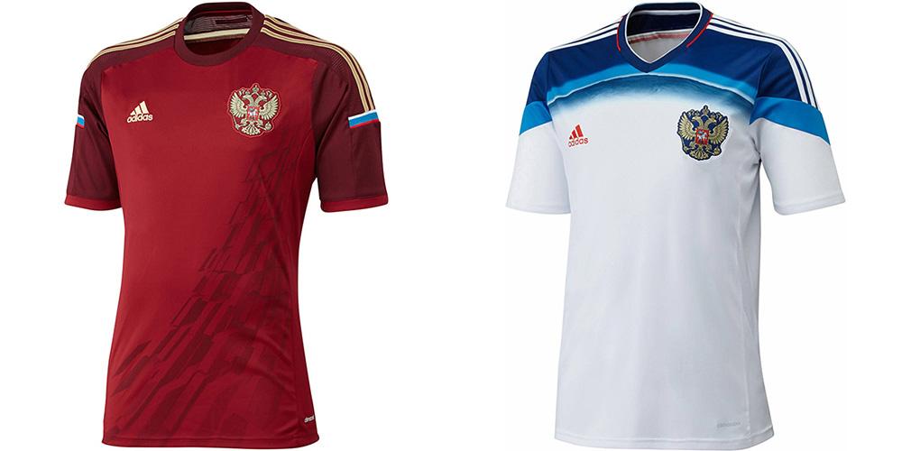 Форма сборной России ЧМ-2014