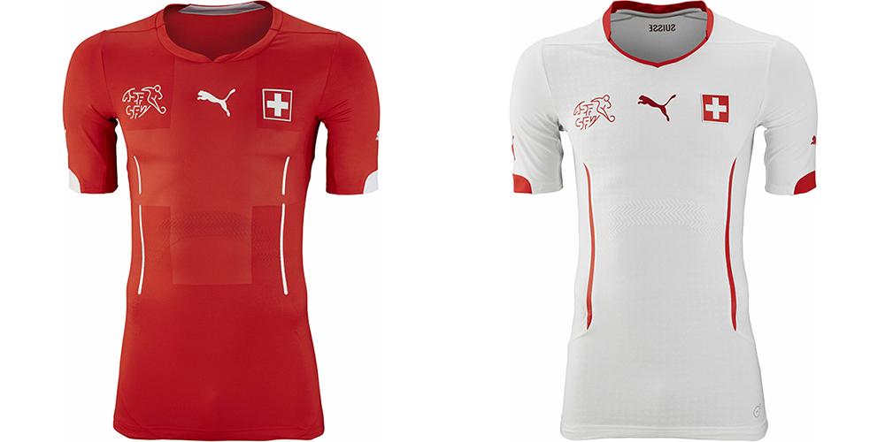 Форма сборной Швейцарии ЧМ-2014