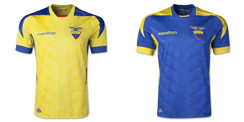Форма сборной Эквадора ЧМ-2014