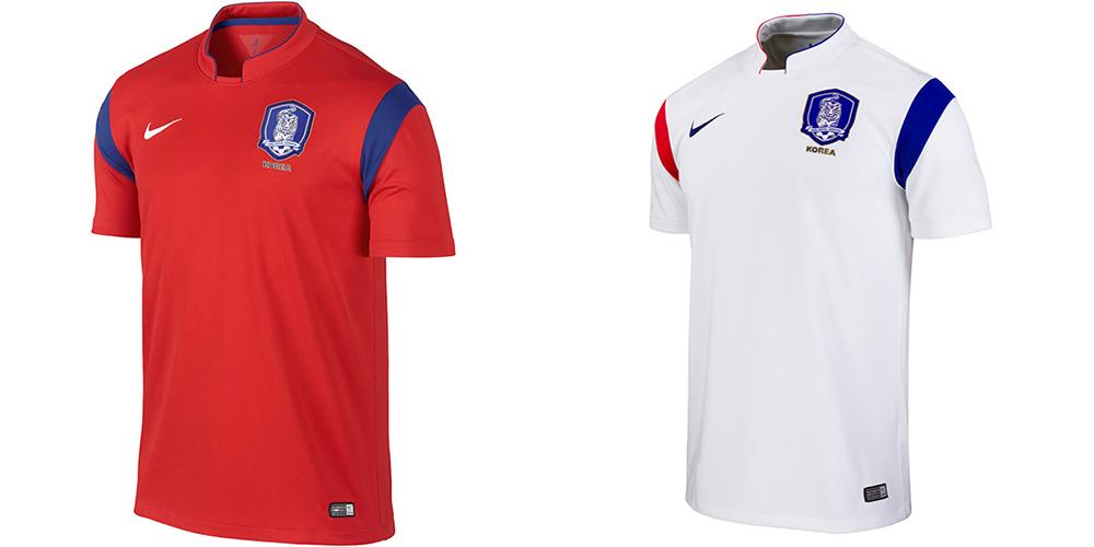 Форма сборной Южной Кореи ЧМ-2014