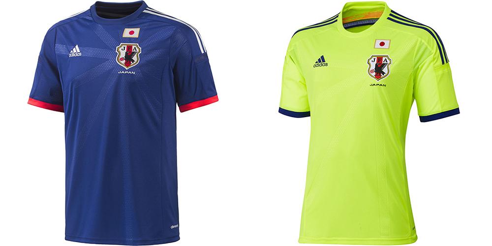 Форма сборной Японии ЧМ-2014