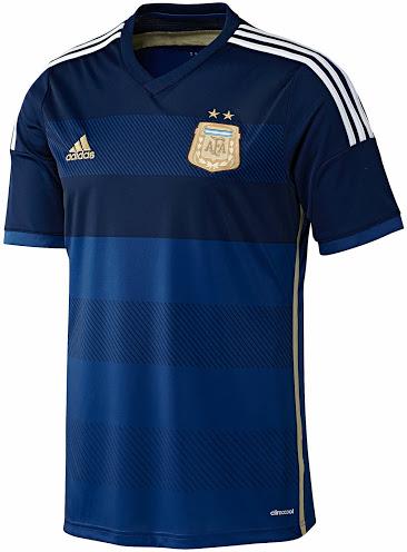 Гостевая форма Аргентины 2014