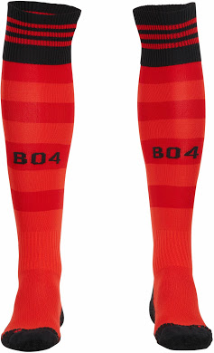 Bayer Leverkusen 14-15 Home Short Socks (2)