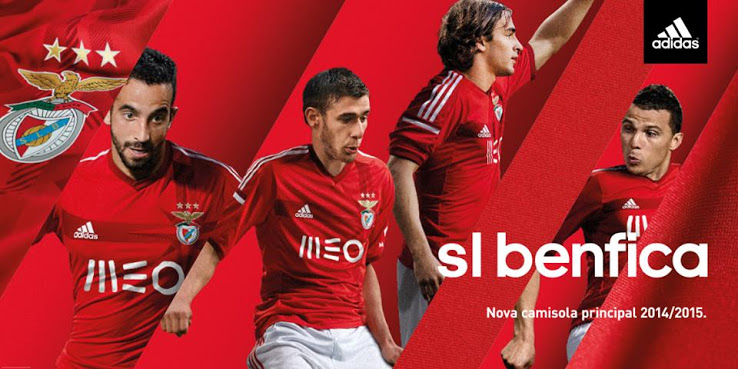 Benfica 14-15 Home Kit