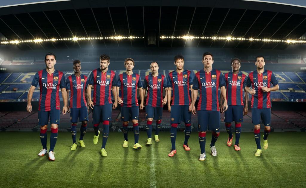 FC Barcelona 14-15 Home Kit