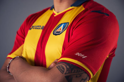 Levski Sofia 2014 Away Kit (1)
