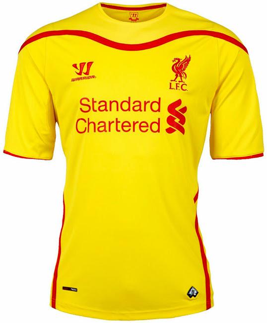Liverpool 14-15 Away Kit