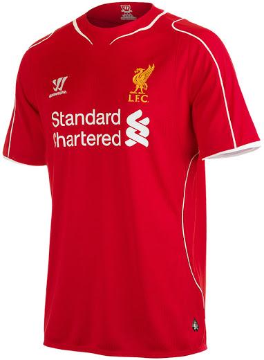 Liverpool 14 15 Home Kit