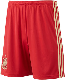 Spain 2014 World Cup Home Kit