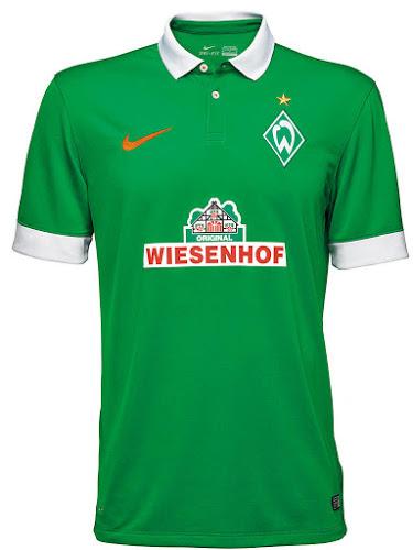 Werder Bremen 14-15 Home Kit (3)