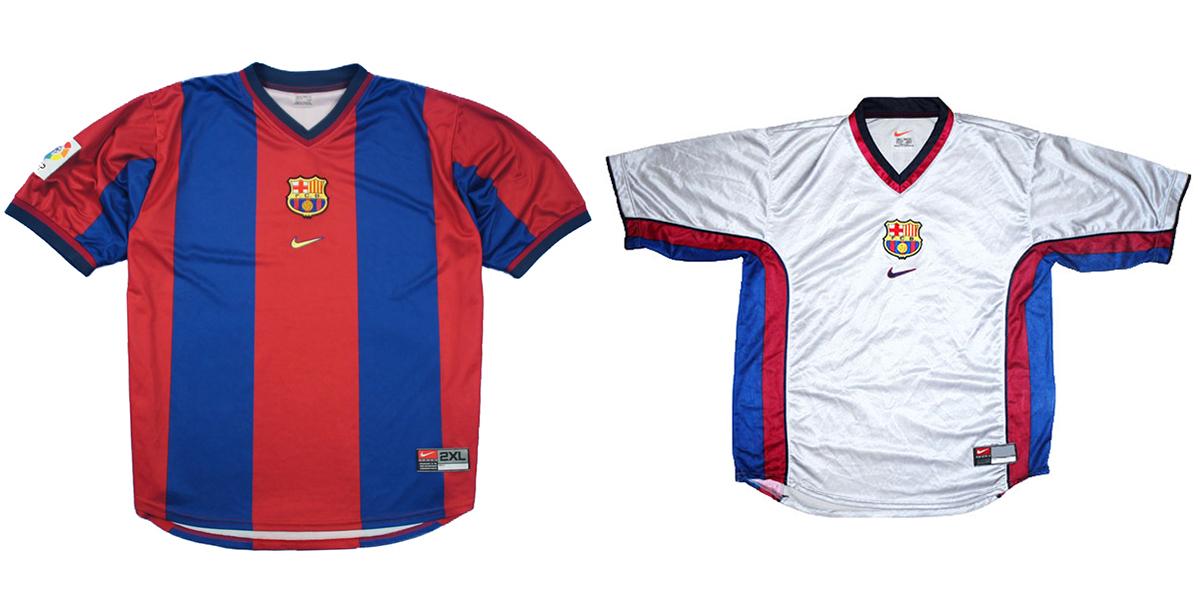 """Форма """"Барселоны"""" 2000/01"""