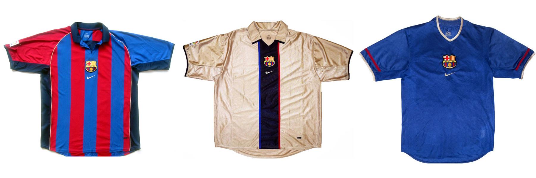 """Форма """"Барселоны"""" 2001/02"""