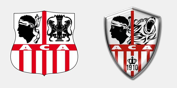 """Новый логотип """"Аяччо"""" 14/15"""