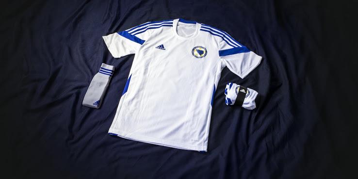 Новая гостевая форма сборной Боснии и Герцеговины 2014