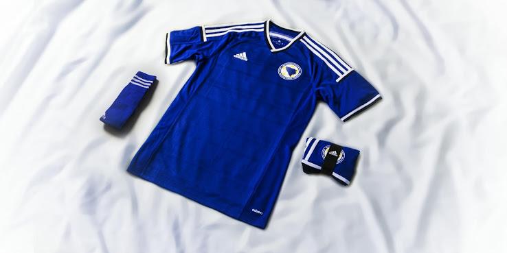 Новая домашняя форма сборной Боснии и Герцеговины 2014