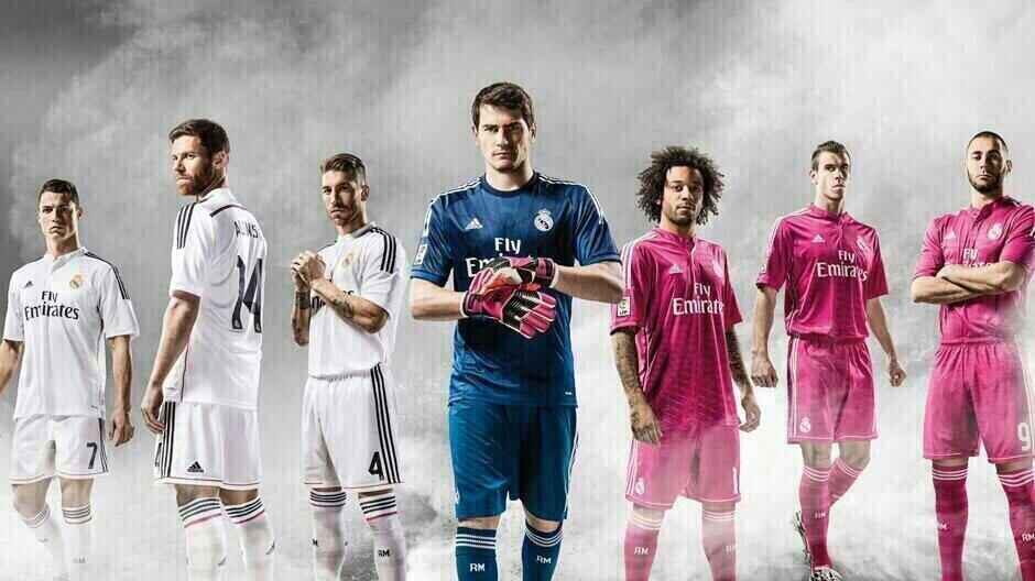 Новая форма Реала 14-15