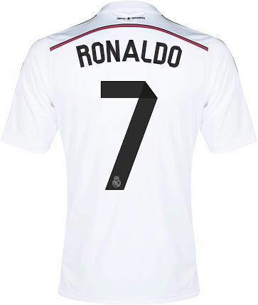 Новая домашняя форма Реала 14-15