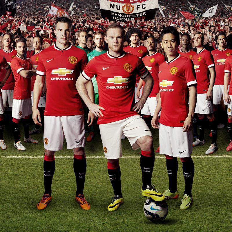 Манчестер Юнайтед новая форма 2014/2015