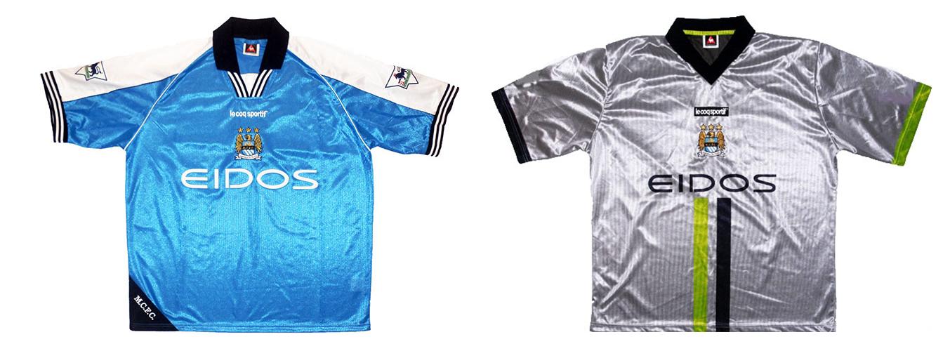 """Форма """"Манчестер Сити"""" 2000-2001"""