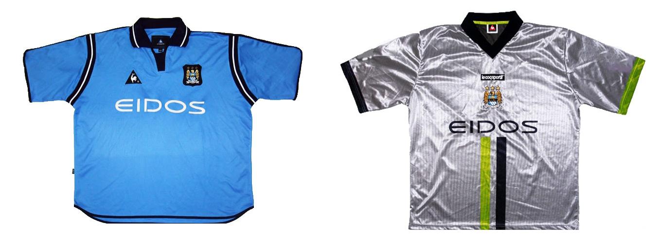 """Форма """"Манчестер Сити"""" 2001-2002"""