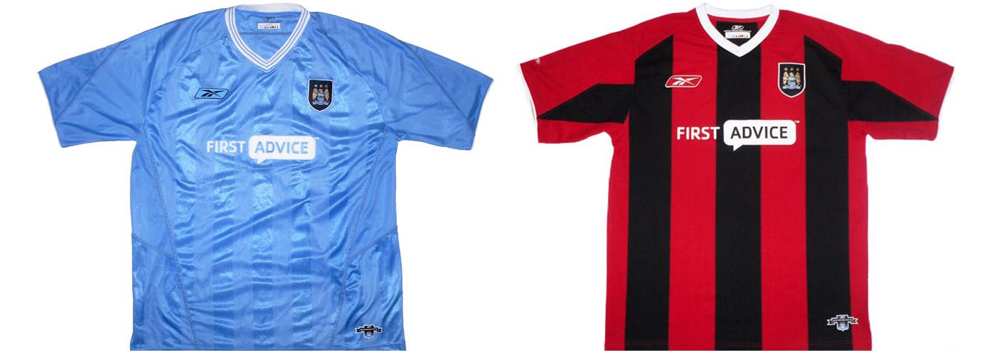 """Форма """"Манчестер Сити"""" 2003-2004"""