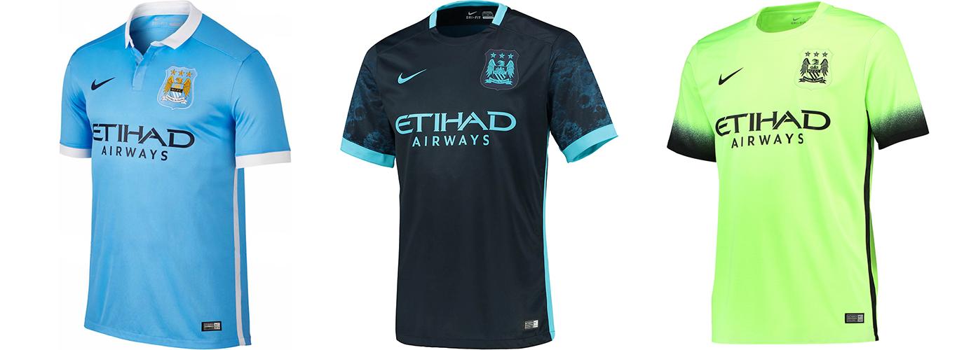 """Форма """"Манчестер Сити"""" 2015-2016"""