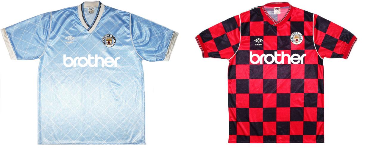 """Форма """"Манчестер Сити"""" 1987-1988"""