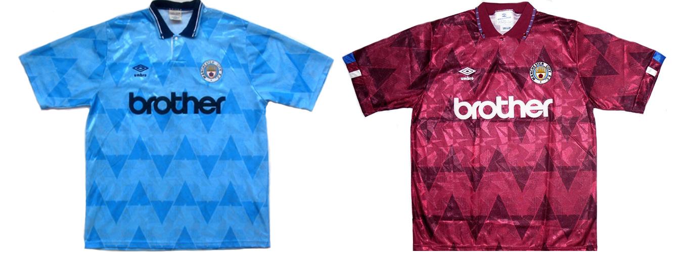 """Форма """"Манчестер Сити"""" 1990-1991"""