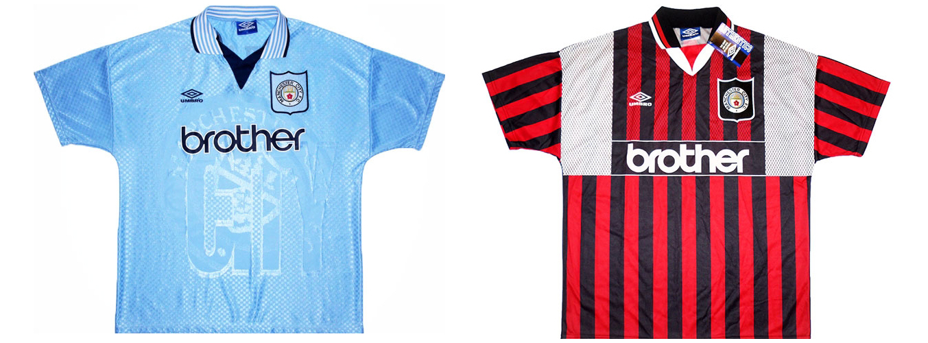 """Форма """"Манчестер Сити"""" 1995-1996"""