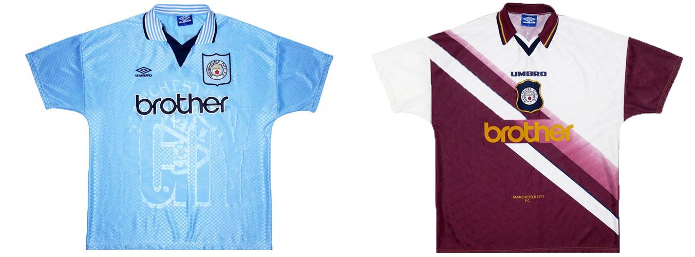 """Форма """"Манчестер Сити"""" 1996-1997"""