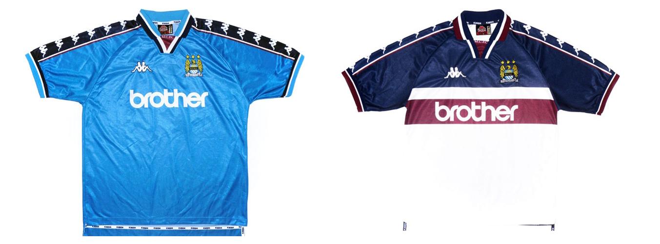 """Форма """"Манчестер Сити"""" 1997-1998"""