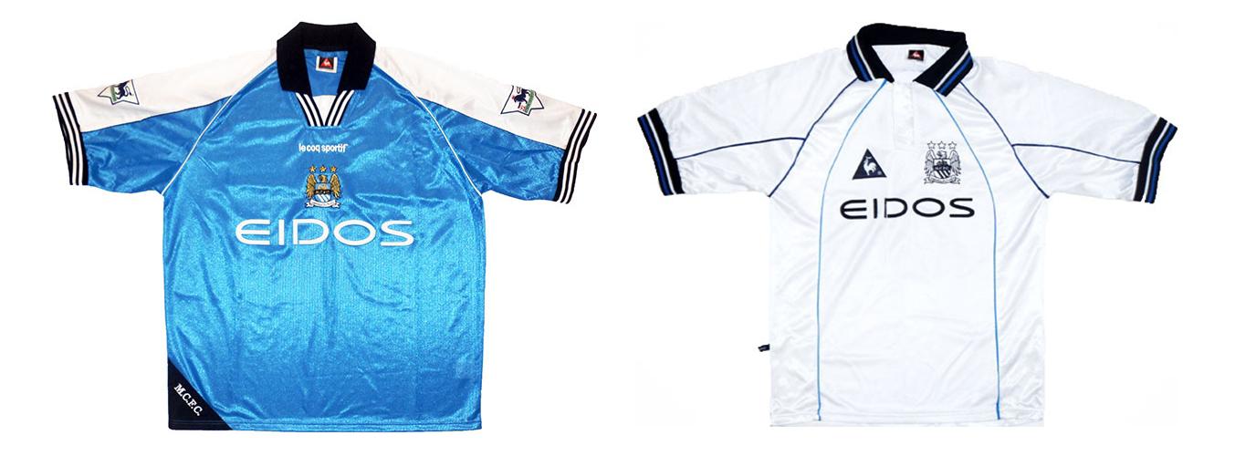 """Форма """"Манчестер Сити"""" 1999-2000"""