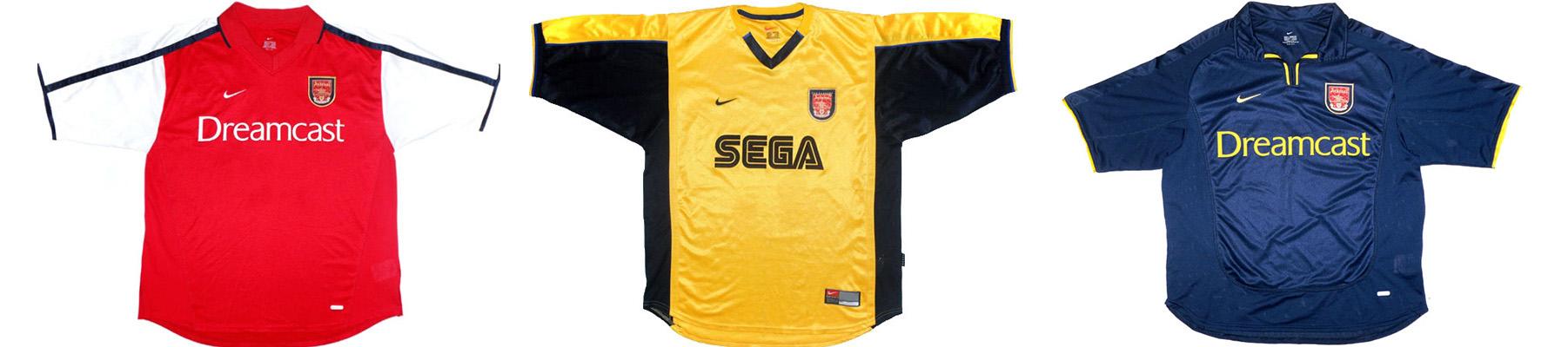 "Форма ""Арсенала"" 2000-2001"