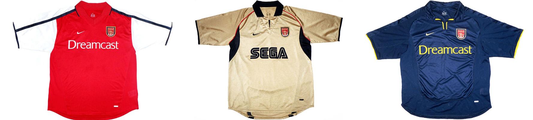 "Форма ""Арсенала"" 2001-2002"