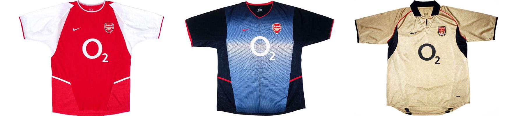 "Форма ""Арсенала"" 2002-2003"
