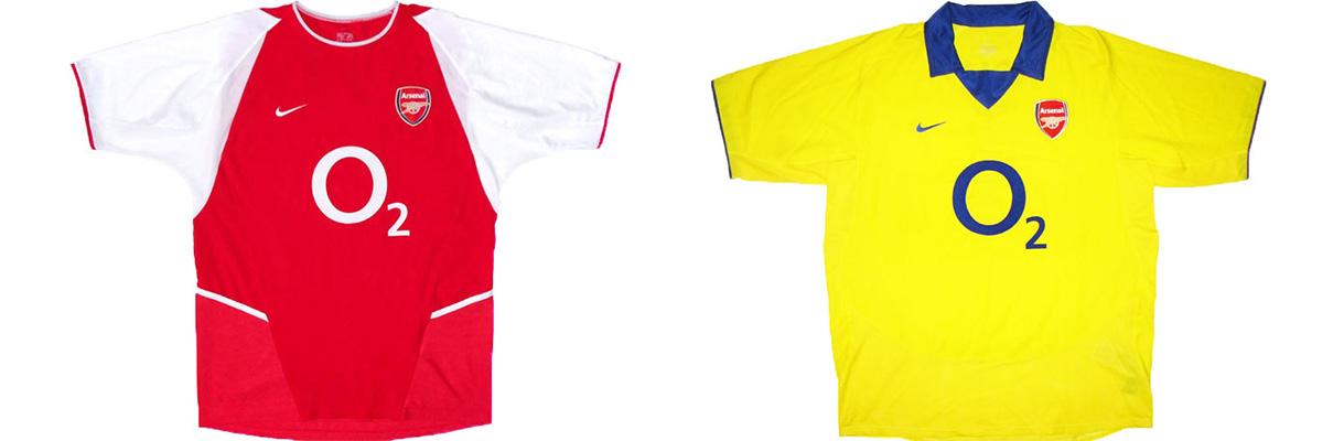 "Форма ""Арсенала"" 2003-2004"