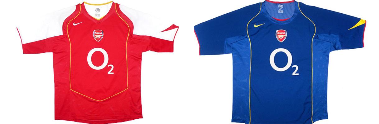 "Форма ""Арсенала"" 2004-2005"