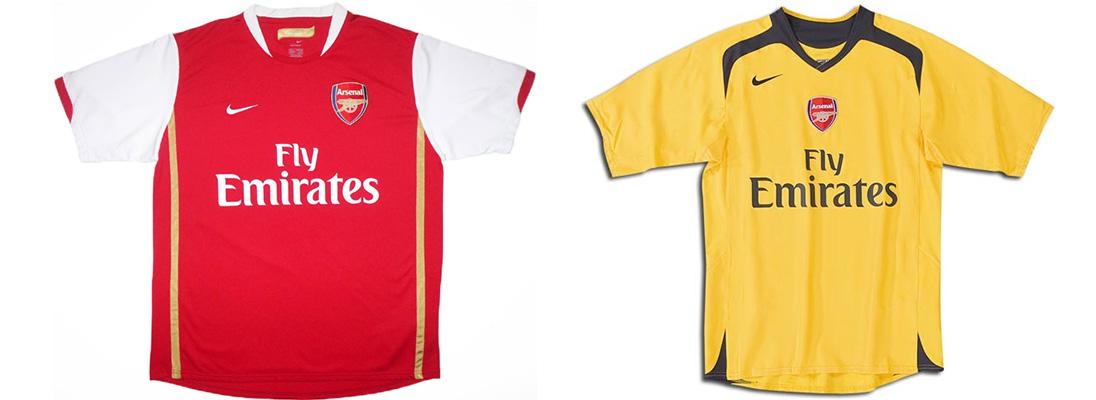 "Форма ""Арсенала"" 2006-2007"