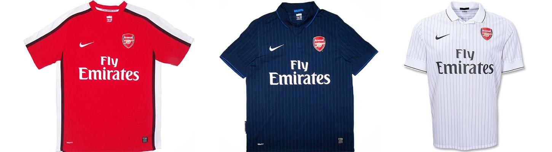 "Форма ""Арсенала"" 2009-2010"