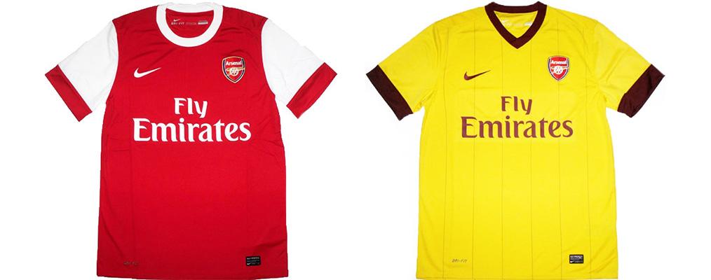"Форма ""Арсенала"" 2010-2011"